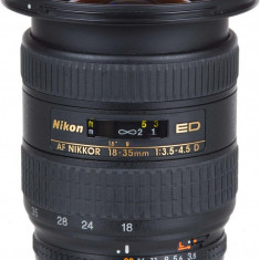 Nikon 18-35mm 3.5-4.5 ED Full Frame - Obiectiv DSLR Nikon, Ultra-wide, Autofocus, Minolta - Md