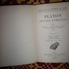 Platon-Opere complete(vol.1/an 1926-in lb.franceza)