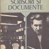 G. CALINESCU - SCRISORI SI DOCUMENTE - Roman, Anul publicarii: 1979