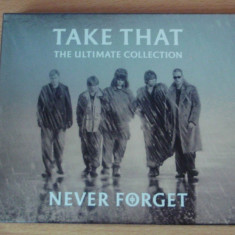 Take That - Never Forget . The Ultimate Collection CD - Muzica Pop sony music