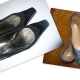 Pantofi piele deosebiti + CADOU - OKAZIE