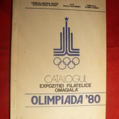 Catalogul Expozitiei Filatelice Olimpiada ' 80