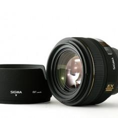 Vand obiectiv 30mm 1.4 sigma - Obiectiv DSLR Sigma, Autofocus, Canon - EF/EF-S, Stabilizare de imagine