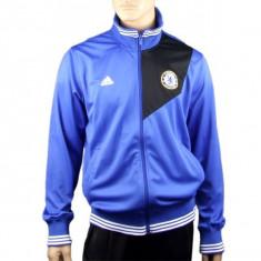 HANORAC BLUZA ADIDAS CHELSEA FC NOU ORIGINAL - Hanorac barbati Adams, Marime: XL, Culoare: Albastru, Microfibra