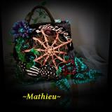 ~Mathieu~ Spider Bag - Geanta Dama, Geanta sacosa, Corai, Microfibra