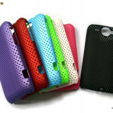 HTC WILDFIRE G8 CAPAC SPATE PERFORAT NOU  ALB  !