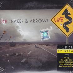 CD Rock: Rush - Snakes & Arrows Live (2 CD-uri - originale, sigilate) - Muzica Rock