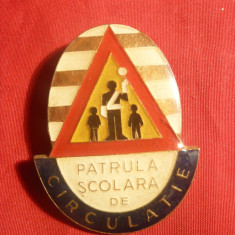 Insigna Pionier - Patrula Scolara - Circulatie