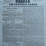 Gazeta Transilvaniei , Brasov , nr. 46 , 1858