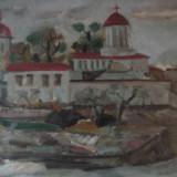 Tablou Manastirea Plumbuita - Nicolae Zambroianu (1978) - Pictor roman