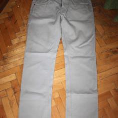Pantaloni slim fit ZARA MAN marime 30 - Pantaloni barbati Speedo, Camel, Lungi, Bumbac