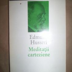 Meditatii carteziene / o introducere in fenomenologie - Edmund Husserl
