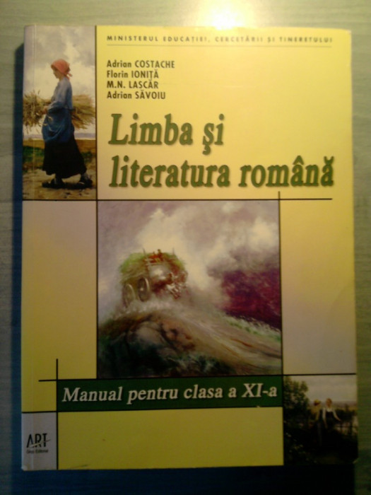 Limba si literatura romana manual clasa a XI a foto mare
