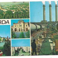 Carte postala(ilustrata)-TURDA-Colaj - Carte Postala Transilvania dupa 1918, Circulata, Printata