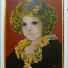 Portret de copil nobil - semnat ilizibil