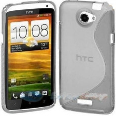 Husa HTC ONE X / XL + folie protectie display + stylus
