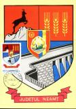 Carte maxima Stema Judetului Neamt 1978, Romania