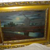 TABLOU OTT ZOLTAN, - Pictor strain, Peisaje, Ulei, Impresionism