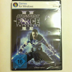 Joc PC Star Wars The Force Unleashed II Sigilat - Jocuri PC Electronic Arts, Role playing, 16+, Multiplayer