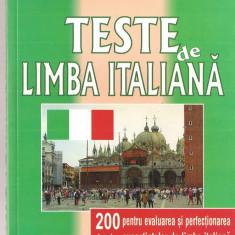 (C1364) TESTE DE LIMBA ITALIANA DE PAOLO CIFARELI SI PIRRE NOARO, EDITURA NICULESCU, BUCURESTI, 2001, TRADUCERE DE MARIA LAURENTIA JINGA, LAROUSSE