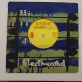 Disc vinil vinyl pick-up ELECTRECORD FOX TWIST RUMBA George Bunea Constantin Draghici FORMAT MIC rar vechi colectie
