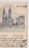 B71505 Temesvar Timisoara Gyarvarosi Kath templom Fabrikler Kath Kircha