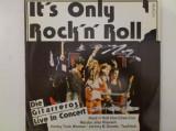 Disc vinil vinyl pick-up AMIGA DIE GITARREROS Live in Concert It's Only Rock'n' Roll 1986 rar vechi colectie