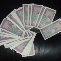 LOT 80 BANCNOTE 10 LEI 1966 aUNC-UNC - Bancnota romaneasca