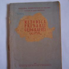 METODICA PREDARII GEOGRAFIEI RPR