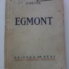 Goethe - Egmont - Roman