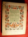 Gr.G.Tocilescu - Balade si Doine - Ed. 1958