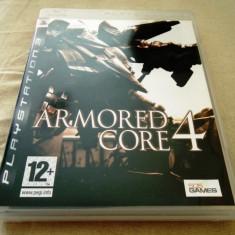 Joc Armored Core 4, PS3, original, alte sute de jocuri! - Jocuri PS3 Altele, Actiune, 12+, Single player