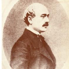 Carte postala ilustrata personalitati, scriitor, poet, diplomat - Vasile Alecsandri, Necirculata