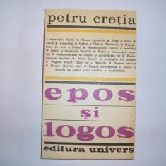 EPOS SI LOGOS- PETRU CRETIA, p6 - Filosofie