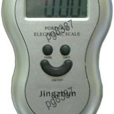 Cantar electronic portabil, cantar de piata, domeniu: 0-40 Kg-111035 - Cantar de Bucatarie