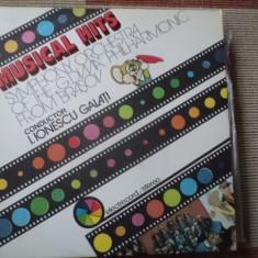 MUSICAL HITS disc vinyl lp ionescu galati muzica clasica pop electrecord, VINIL