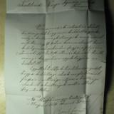 DOCUMENT VECHI - TRANSILVANIA 1871 - NAGYENYED(AIUD) - TOVIS(TEIUS)