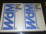 Worterbuch der medizin - 2 volume - A - Z - 1984 - in germana ( Medicina )