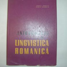 INTRODUCERE ÎN LINGVISTICA ROMANICĂ IORGU IORDAN,p8