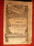 Emmanuel Kant - Tratat de Pedagogie - ed. cca.1912