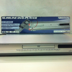 SLIMLINE DVD-PLAYER MEDION - DVD Playere Medion, CD-R: 1, DVD-RW: 1, JPEG: 1, SVCD: 1, VCD: 1