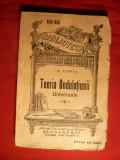 V. Conta - Teoria Ondulatiunii Universale - cca. 1913