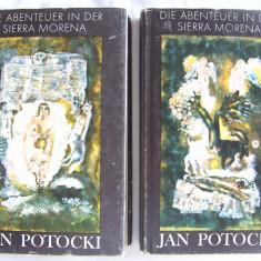 """""""DIE ABENTEUER IN DER SIERRA MORENA von Saragossa"""", 2 vol., Jan Potocki, 1981, Alta editura"""