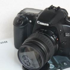 Aparat foto DSLR Canon 30D + obiectiv EF 28-105mm f/4-5.6 + filtru UV + card 4GB, Kit (cu obiectiv), 8 Mpx