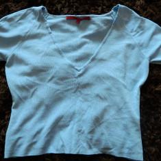 Bluza de dama, maneca treisfert, marimea L, LICHIDARE DE STOC - Bluza dama, Marime: L, Maneca 3/4, Casual, Alb, Vascoza
