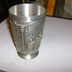 /POCAL/PAHAR ZINC 2...TRANSPORT ZERO - Metal/Fonta, Vase