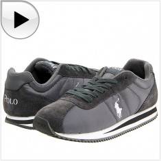 Adidas RALPH LAUREN Runner Lace - Adidas Copii, Baieti - 100% AUTENTIC - Adidasi copii Ralph Lauren, Marime: 35, Culoare: Din imagine