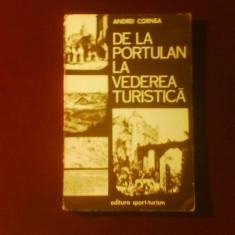 Andrei Cornea De la portulan la vederea turistica.Ilustratori straini sec.XVIII-XIX - Carte Istoria artei