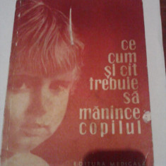 Ce, cum si cit trebuie sa manince copilul - Dr. Emilia Andreescu - Carte Ghidul mamei