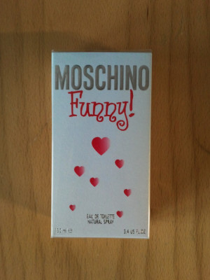 Vand parfum original Moschino Funny 100ml foto